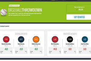Fan Nation app debuts with Baseball Throwdown, a daily game that tests your skills against projections