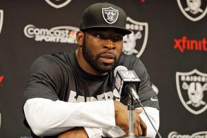 Justin Tuck Oakland Raiders