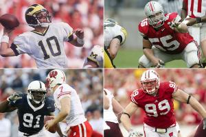 Tom Brady, Tamba Hali, Nick Mangold, J.J. Watt headline All-Big Ten Alumni Team