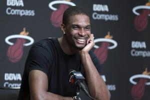 chris bosh miami heat lebron james