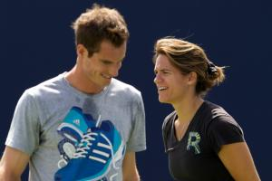 Andy Murray says he'll be with new coach Amelie Mauresm...