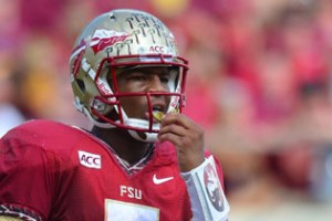Florida State quarterback Jameis Winston is the favorite to defend his Heisman Trophy.