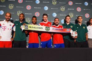 MLS All-Stars Bayern Munich press conference