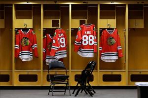 The Blackhawks signed stars Jonathan Toews and Patrick Kane to lucrative long-term extensions this summer, ensuring that the two players' jerseys should be hanging in the United Center for years.