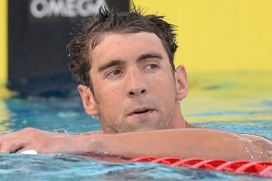Michael Phelps lost in a photo finish to Tom Shields in the 100-meter butterfly at the Phillips 66 National Championships.