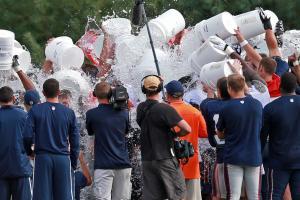 ice bucket challenge athletes coaches sports figures