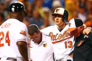 Manny Machado Baltimore Orioles injury