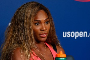 Serena Williams' first-round match at the U.S. Open matches her with young American Taylor Townsend.