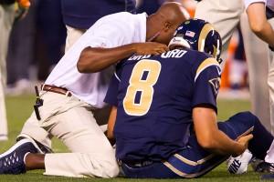 Sam Bradford injury: St. Louis Rams' options include Shaun Hill, Mark Sanchez