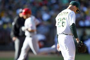 Oakland Athletics injuries struggles