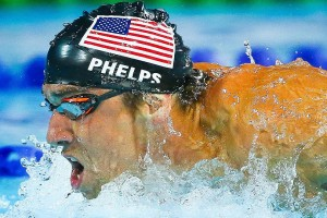Michael Phelps will swim in the 100 free, 100 fly and 200 IM in Kazan, Russia for the United States in the World Championships.