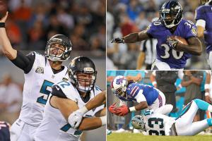2014 NFL preseason highs, lows: Blake Bortles impresses; New York Giants disappoint