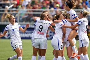 Amy Rodriguez scored two goals in FC Kansas City's win against the Seattle Reign to win the NWSL championship.