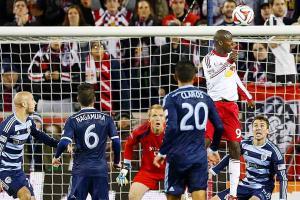 Bradley Wright-Phillips goal vs. Sporting Kansas City MLS playoffs