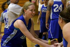 Lauren Hill honored with brick in Indiana Basketball Ha...