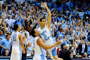 Kennedy Meeks and Marcus Paige
