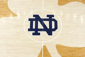 The Notre Dame women's basketball team sported 'I can't...