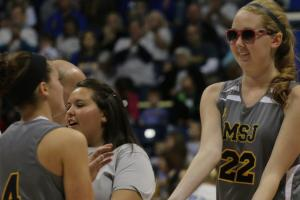 Lauren Hill scores in first home game