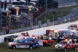 Kyle Busch suffers compound leg fracture in crash, will...