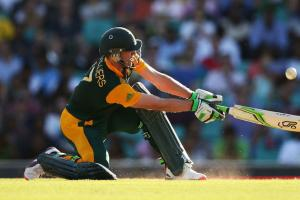 South Africa's AB De Villiers hits fastest ODI 150 in W...