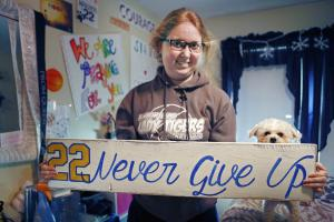 Lauren Hill hoping to raise $2.2 million for cancer res...