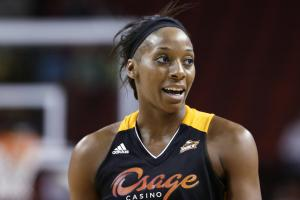 Glory Johnson-Griner, Brittney Griner's wife, announces...