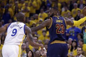 James, Iguodala NBA Finals