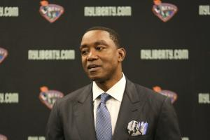 WNBA, Liberty suspend consideration of Isiah Thomas' ow...