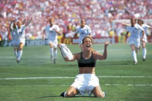 Brandi Chastain elected to soccer hall of fame