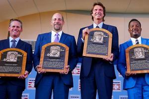 2015 MLB Hall of Fame induction: Craig Biggio, John Smoltz, Randy Johnson, Pedro Martinez