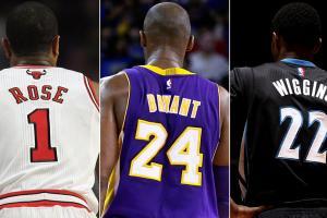 Derrick Rose; Kobe Bryant; Andrew Wiggins