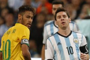 Neymar, Messi will miss the start of CONMEBOL 2018 World Cup qualifying