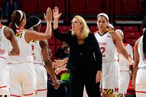 Maryland women aiming again for juggenaut UConn