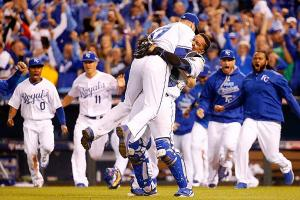 Royals celebrate ALCS win