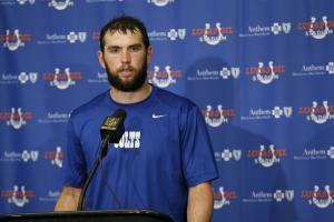 Lukewarm Week 9 fantasy: Luck's lacerated stock