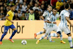Neymar, Brazil face Argentina in World Cup qualifying
