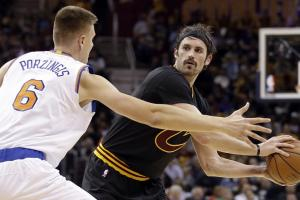 As promised, Kevin Love is Cavaliers' centerpiece