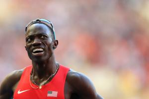 Olympian Lopez Lomong calls for refugee help