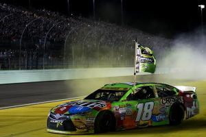 Kyle Busch wins first career NASCAR championship