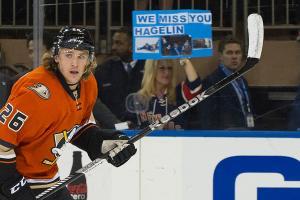 Anaheim Ducks Carl Hagelin