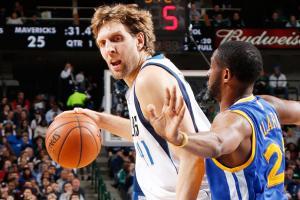 Dirk Nowitzki Dallas Mavericks Golden State Warriors