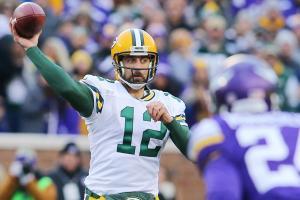 Aaron Rodgers Packers Vikings