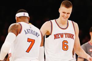 New York Knicks Kristaps Porzingis NBA Sports Illustrated