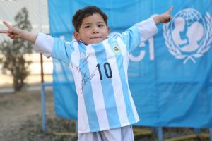 Messi fan forced into exile amid threats