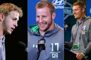 NFL combine: Jared Goff, Connor Cook, Carson Wentz meet the media