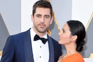 Green Bay Packers' Aaron Rodgers attended the Oscars with Olivia Munn