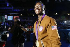Claressa Shields on Holly Holm: She's tough
