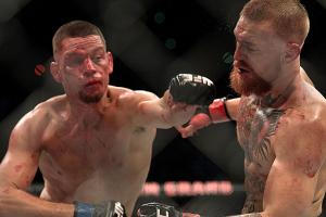 McGregor cut back down to size by Diaz at UFC 196