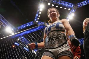 Miesha Tate: 'I'm gonna go eat some cupcakes'