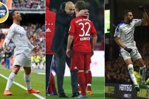 Cristiano Ronaldo, Pep Guardiola and Riyad Mahrez were at the center of the action Around Europe